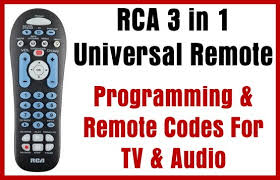 How to program an RCA Universal Remote in 6 Simple Steps