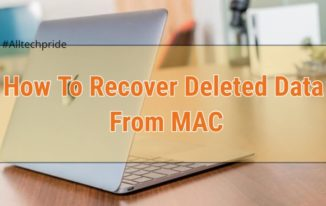 How To Recover Deleted Data From MAC